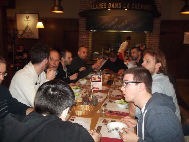 Les boys au Repas
